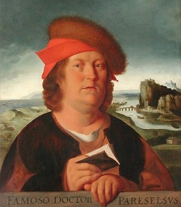 A portrait of Paracelsus